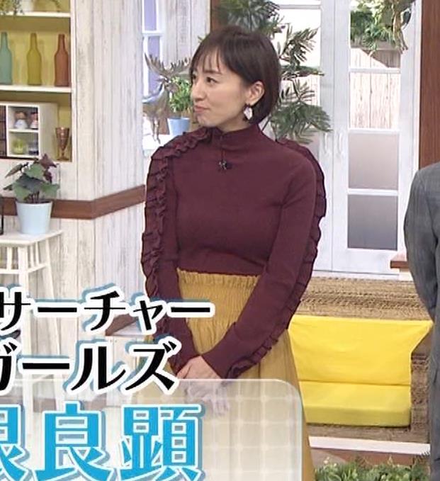 西尾由佳理 ニットおっぱいキャプ・エロ画像4