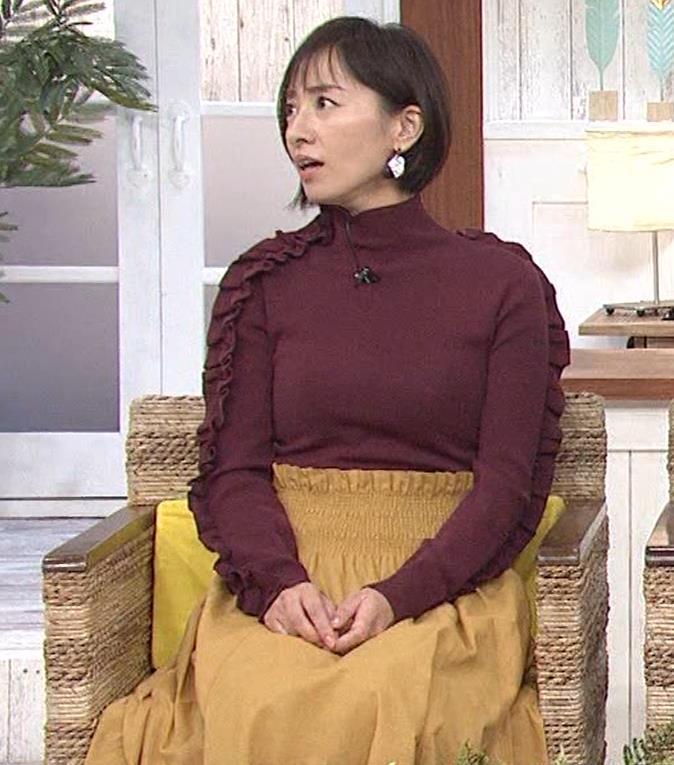 西尾由佳理 ニットおっぱいキャプ・エロ画像6