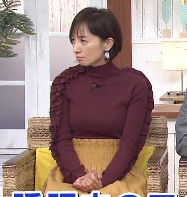 西尾由佳理 ニットおっぱいキャプ・エロ画像8