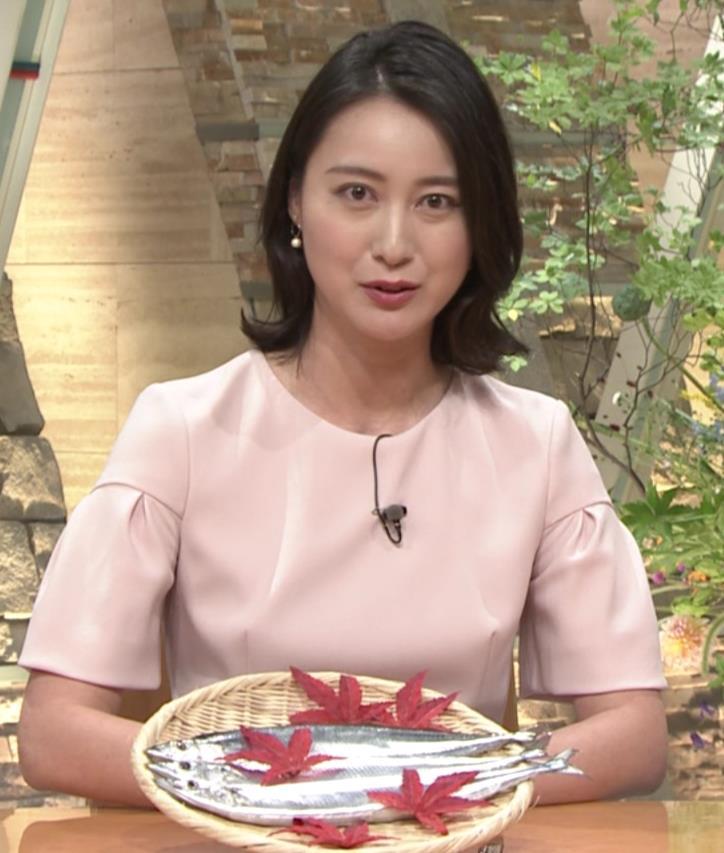 小川彩佳アナ 横から見たお胸とお尻キャプ・エロ画像13