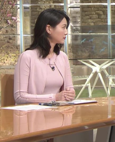 小川彩佳アナ おっぱいも▼ゾーンもエロかったキャプ・エロ画像3