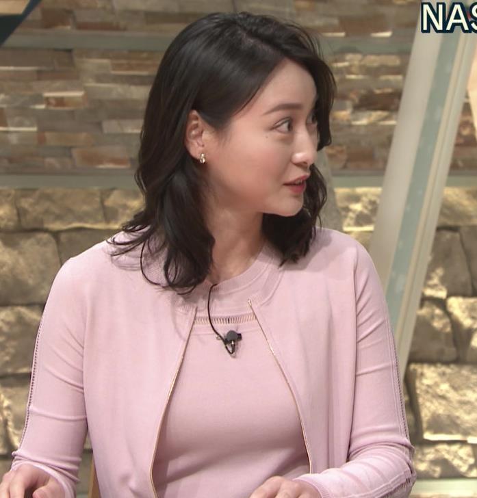 小川彩佳アナ おっぱいも▼ゾーンもエロかったキャプ・エロ画像5