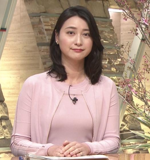 小川彩佳アナ おっぱいも▼ゾーンもエロかったキャプ・エロ画像7