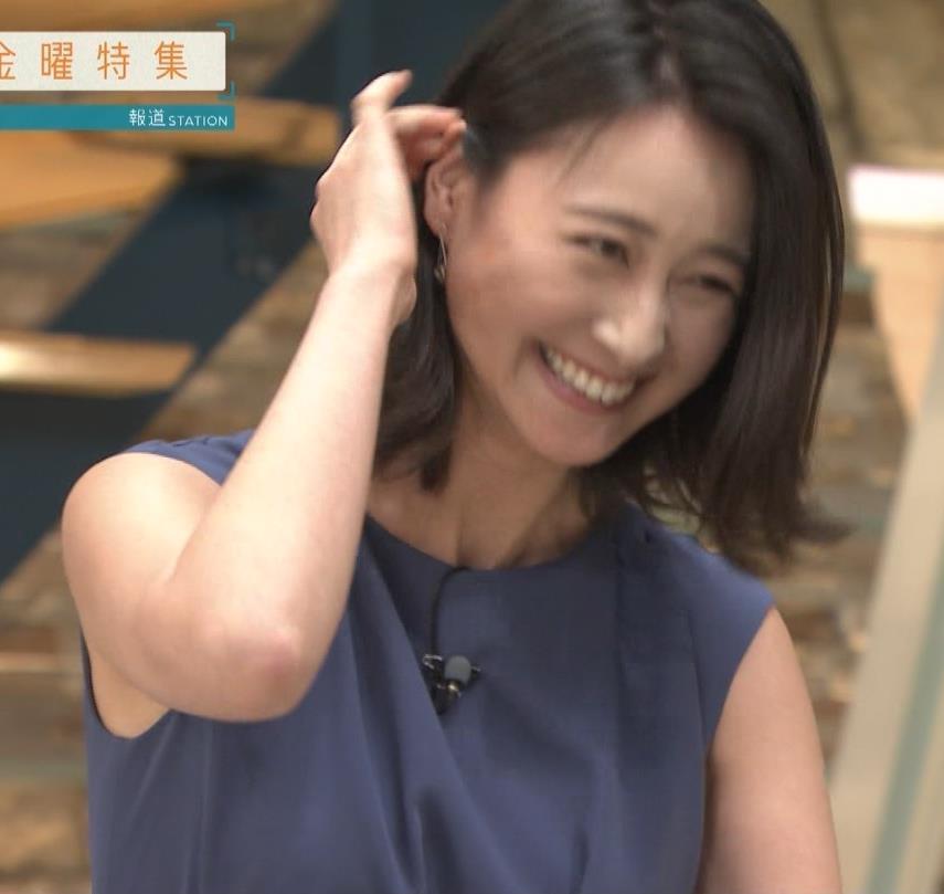 小川彩佳アナ スカートでの正座がエロいキャプ・エロ画像6