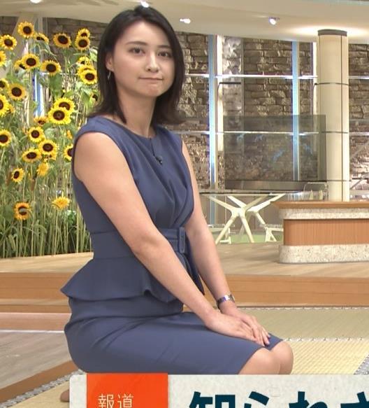 小川彩佳アナ スカートでの正座がエロいキャプ・エロ画像9