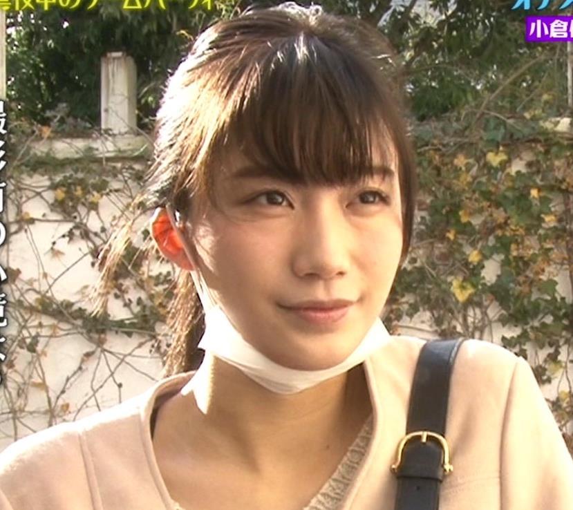 小倉優香 テレビでも気前よくおっぱい出してくれてるキャプ・エロ画像2