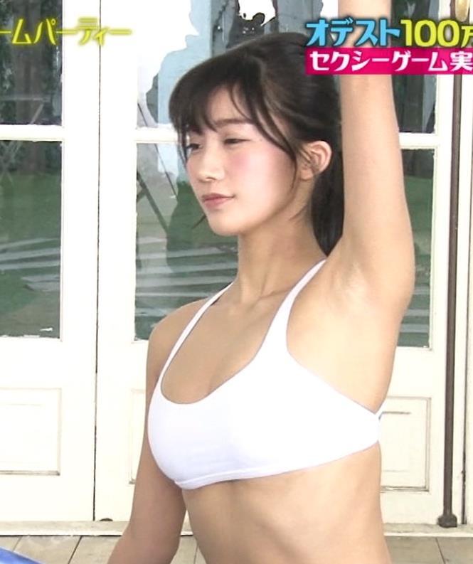小倉優香 エロ過ぎるセクシーヨガキャプ・エロ画像21