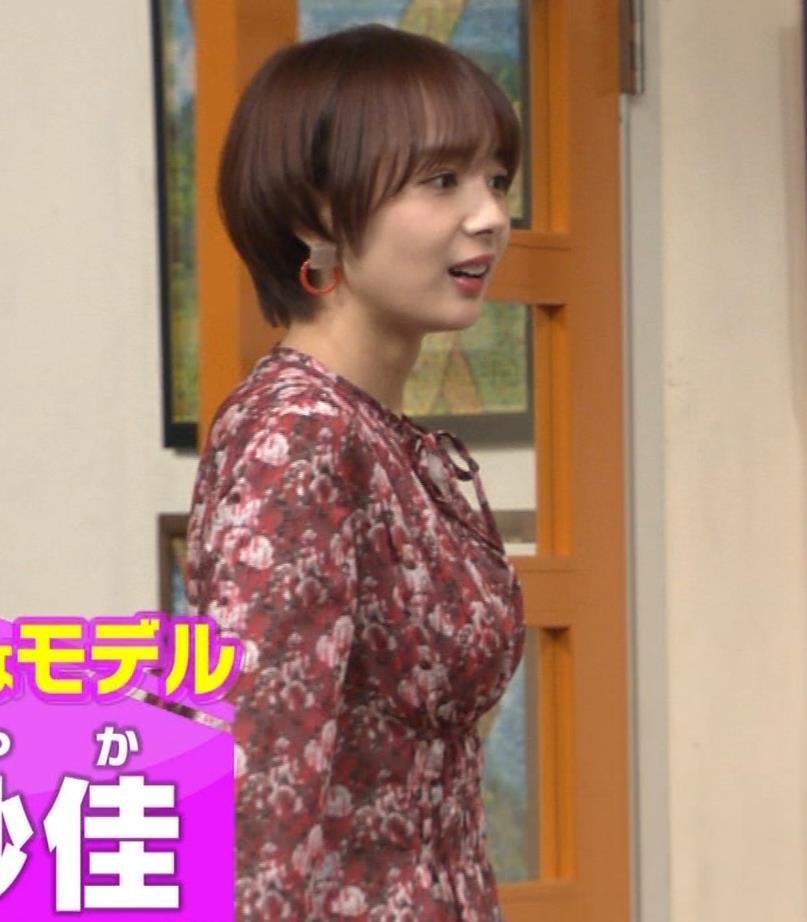 岡田紗佳 ワンピース横乳キャプ・エロ画像2