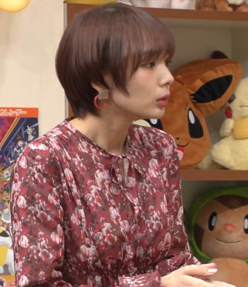 岡田紗佳 ワンピース横乳キャプ・エロ画像4