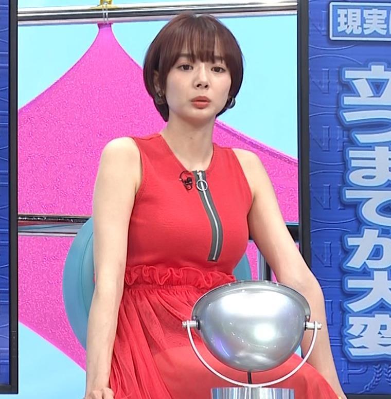 岡田紗佳 この横乳がエロ過ぎキャプ・エロ画像9