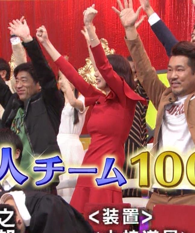 岡田紗佳 クイズ番組でもエロい衣装キャプ・エロ画像24