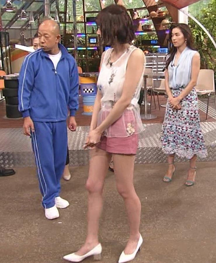 岡田紗佳 バイキング小峠に後ろからおかされる!?キャプ・エロ画像3