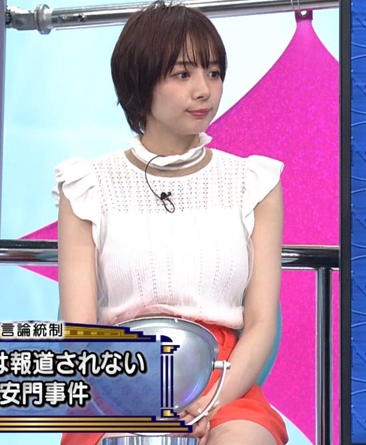 岡田紗佳 短パン太ももキャプ・エロ画像4