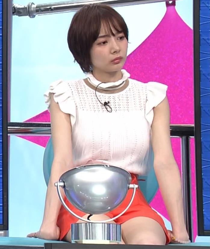 岡田紗佳 短パン太ももキャプ・エロ画像10