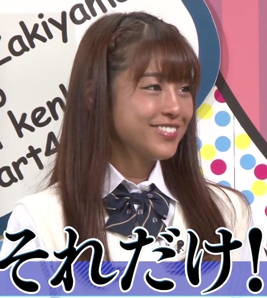 岡副麻希 今年は特に黒すぎる…キャプ・エロ画像2