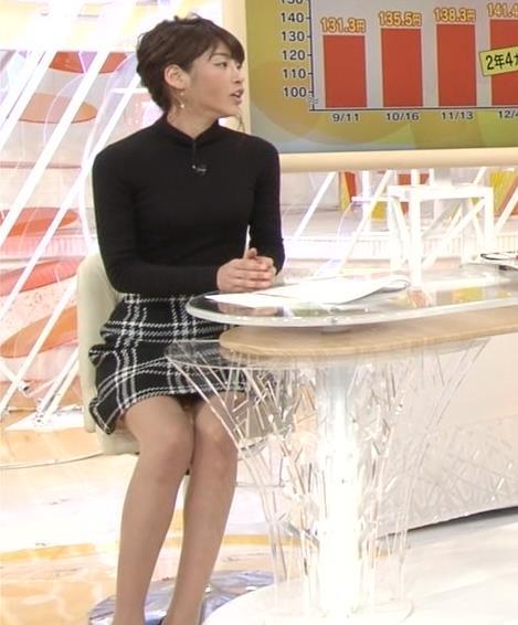岡副麻希 パンツ見えそうな▼ゾーンだけど、脚が細すぎてエロくない…キャプ・エロ画像