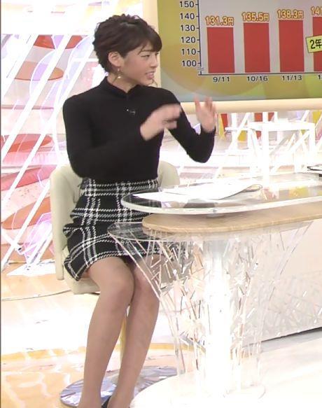 岡副麻希 パンツ見えそうな▼ゾーンだけど、脚が細すぎてエロくない…キャプ・エロ画像3