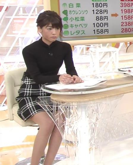 岡副麻希 パンツ見えそうな▼ゾーンだけど、脚が細すぎてエロくない…キャプ・エロ画像6