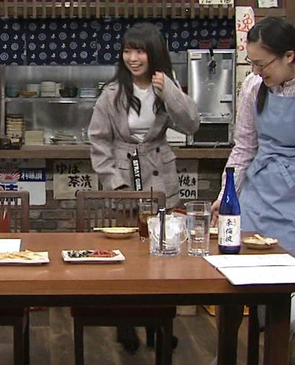 大原優乃 巨乳でTシャツがパツパツ 「志村の夜」キャプ・エロ画像5