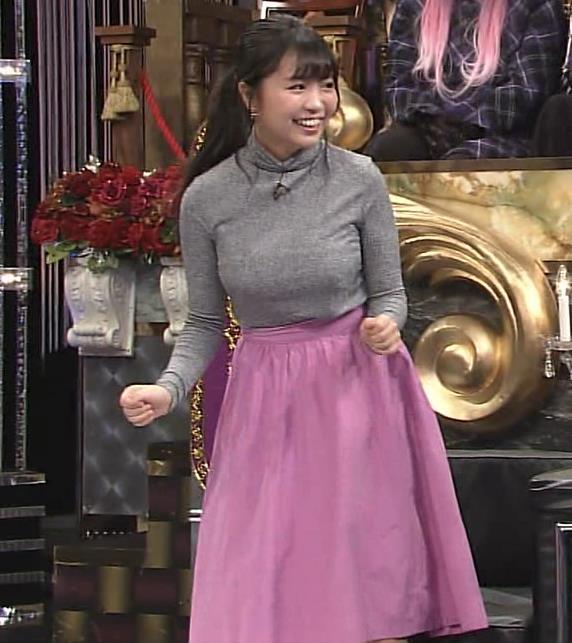 大原優乃 元Dream5の巨乳ニット&セーラー服&ビキニおっぱいキャプ・エロ画像2