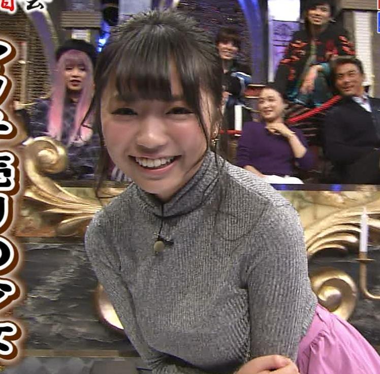 大原優乃 元Dream5の巨乳ニット&セーラー服&ビキニおっぱいキャプ・エロ画像3