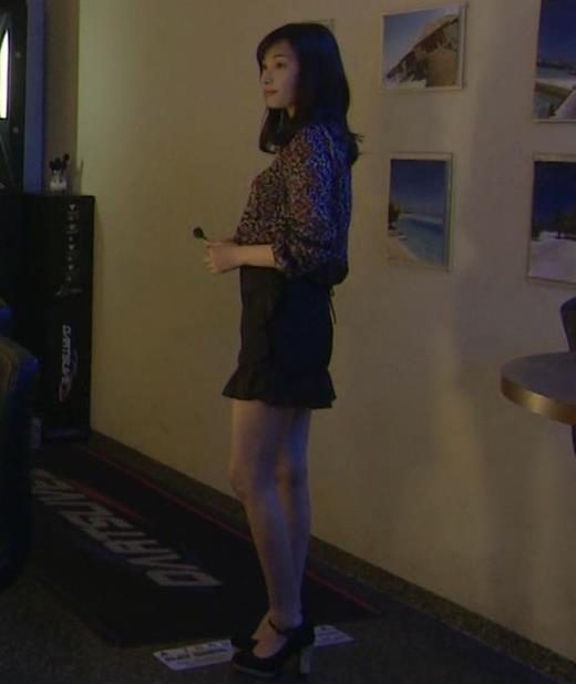 大政絢 ドラマでの美脚と横乳キャプ画像(エロ・アイコラ画像)