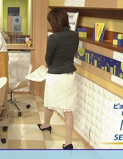 大成安代アナ タイトめなスカートのお尻キャプ・エロ画像2