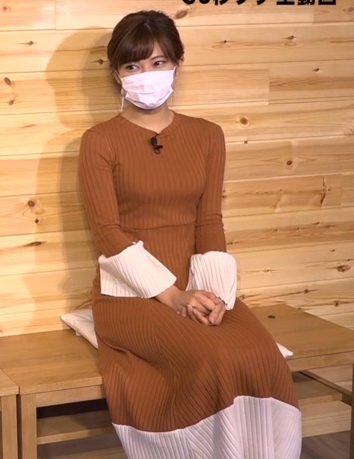大澤玲美 グラドルのニットおっぱい♡キャプ・エロ画像2