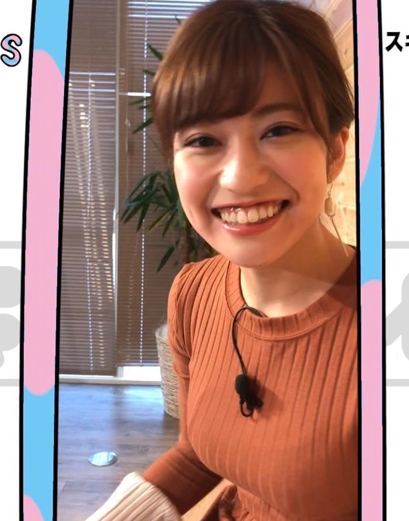大澤玲美 グラドルのニットおっぱい♡キャプ・エロ画像11