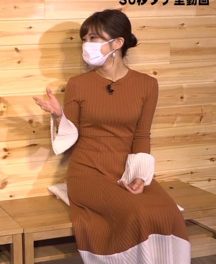 大澤玲美 グラドルのニットおっぱい♡キャプ・エロ画像3
