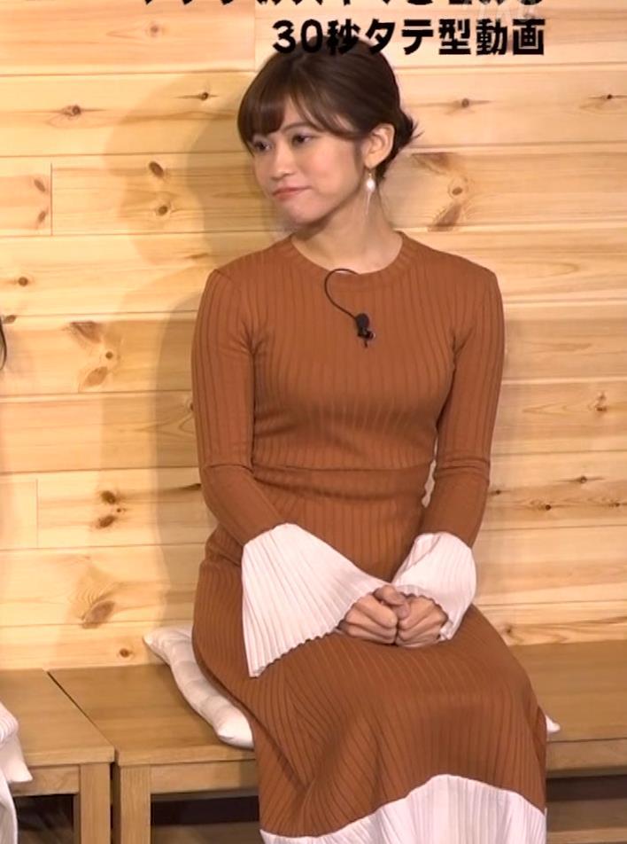 大澤玲美 グラドルのニットおっぱい♡キャプ・エロ画像9