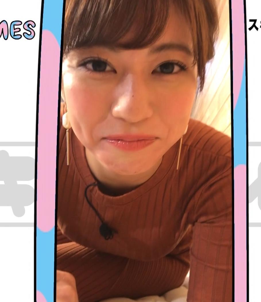 大澤玲美 グラドルのニットおっぱい♡キャプ・エロ画像10