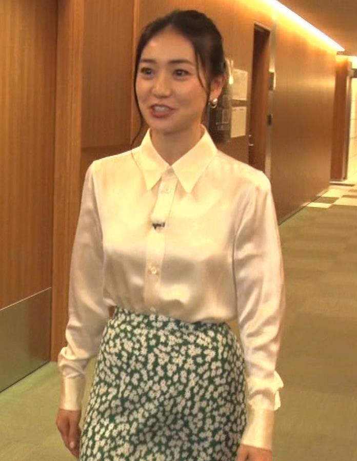 大島優子 BS番組での横乳キャプ・エロ画像