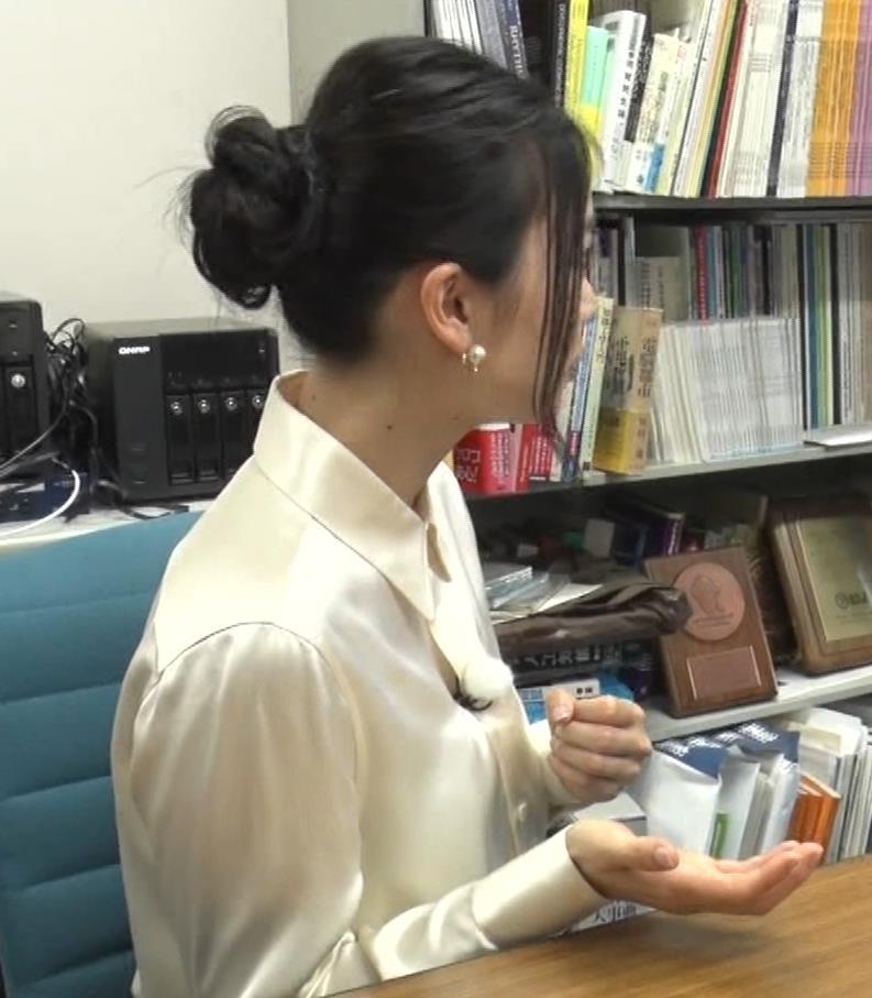 大島優子 BS番組での横乳キャプ・エロ画像16