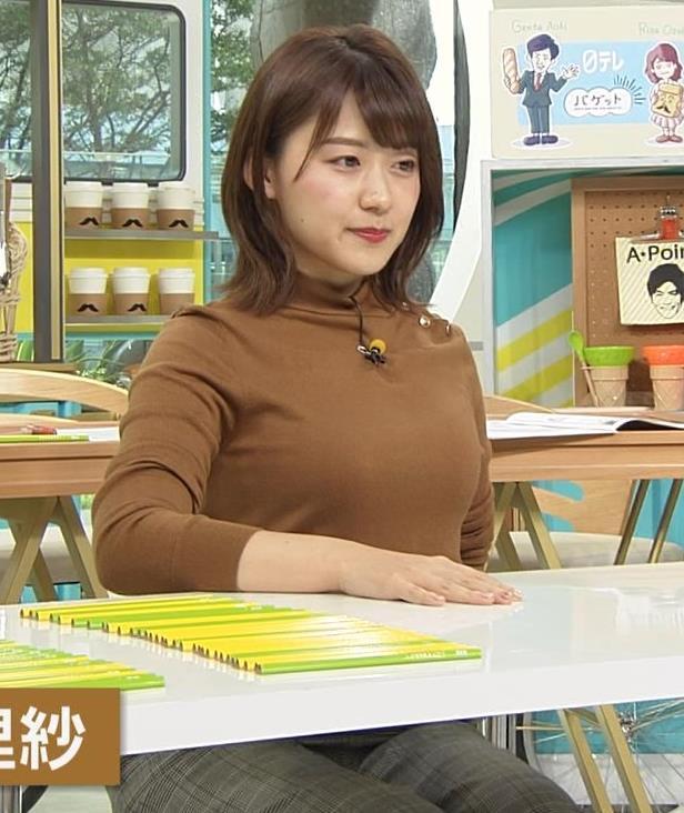 尾崎里紗アナ ムッチリ系女子アナキャプ・エロ画像3