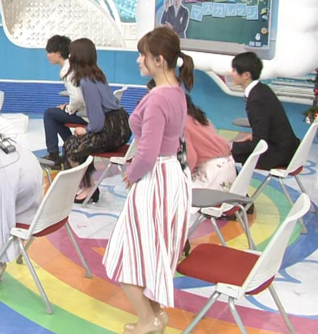 尾崎里紗アナ とおっぱいキャプ・エロ画像