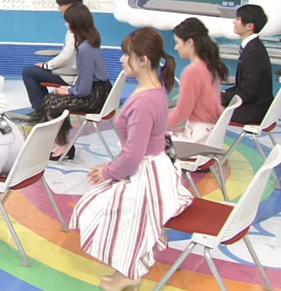 尾崎里紗アナ とおっぱいキャプ・エロ画像5