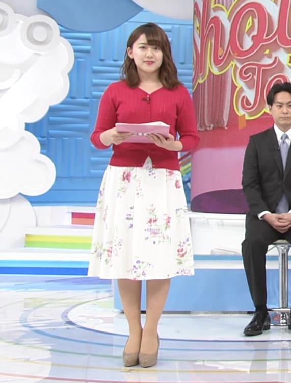 尾崎里紗アナ ムッチリ系女子アナキャプ・エロ画像