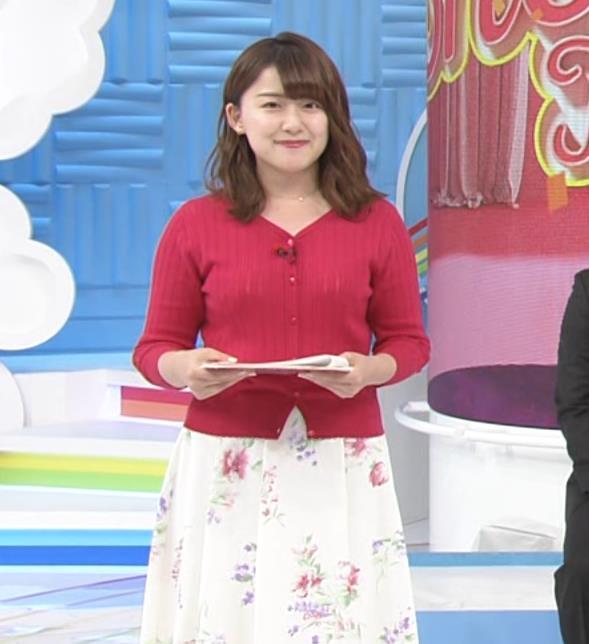 尾崎里紗アナ ムッチリ系女子アナキャプ・エロ画像2