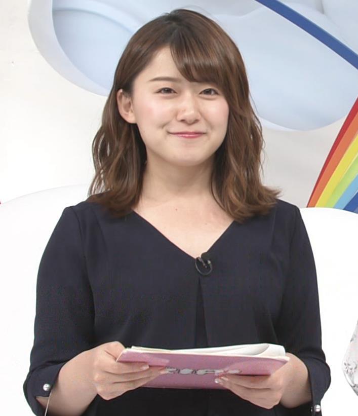 尾崎里紗アナ ムッチリ系女子アナキャプ・エロ画像11