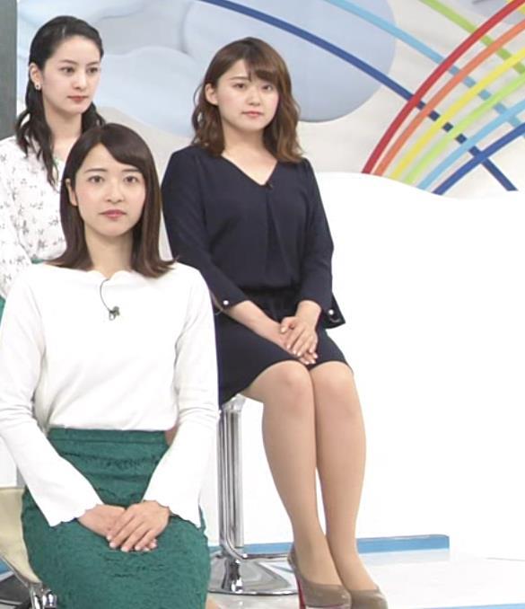 尾崎里紗アナ ムッチリ系女子アナキャプ・エロ画像7
