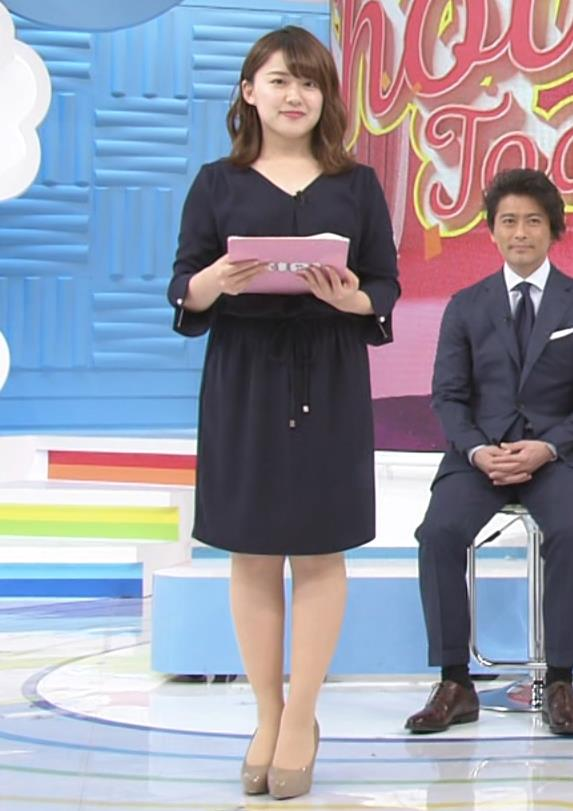 尾崎里紗アナ ムッチリ系女子アナキャプ・エロ画像8