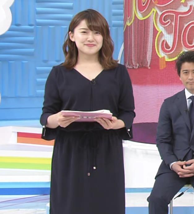尾崎里紗アナ ムッチリ系女子アナキャプ・エロ画像9