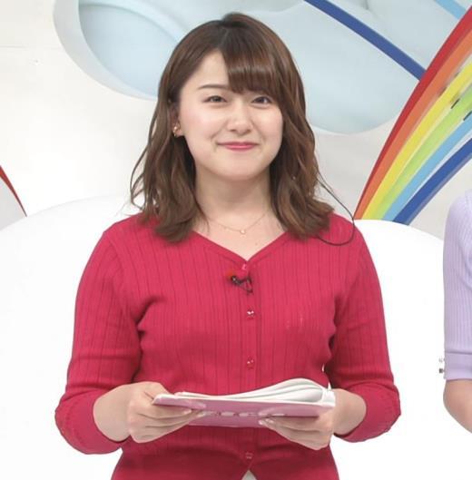 尾崎里紗 ムッチリ系女子アナキャプ画像(エロ・アイコラ画像)