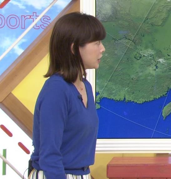 尾崎朋美 緩めのニットおっぱいキャプ・エロ画像2