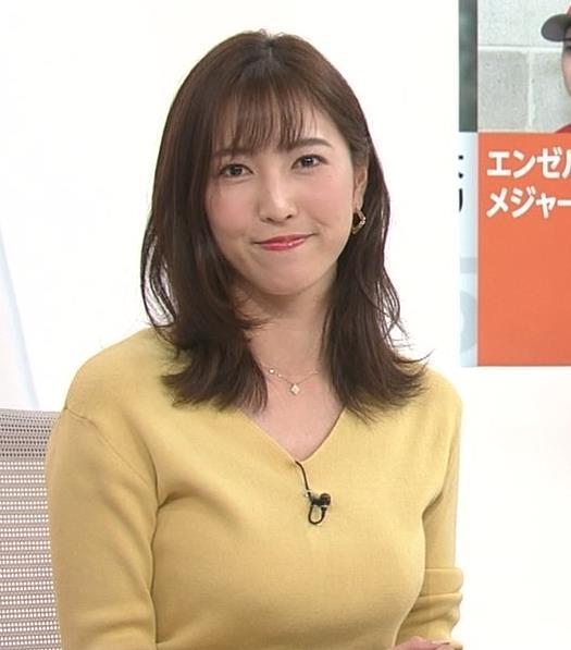 小澤陽子アナ 美人巨乳女子アナキャプ・エロ画像