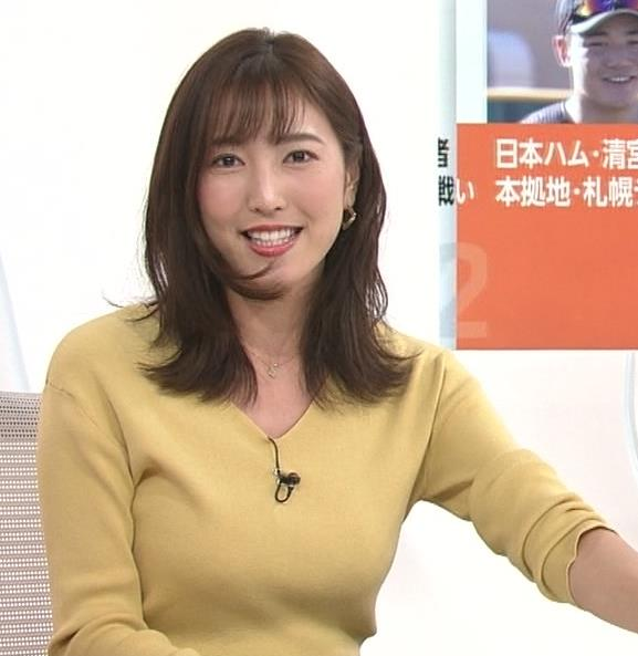小澤陽子アナ 美人巨乳女子アナキャプ・エロ画像4