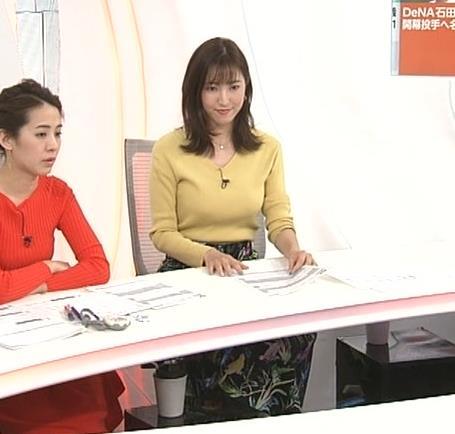 小澤陽子アナ 美人巨乳女子アナキャプ・エロ画像5