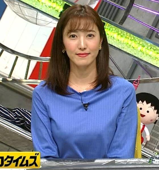 小澤陽子アナ お胸が大きい女子アナキャプ・エロ画像