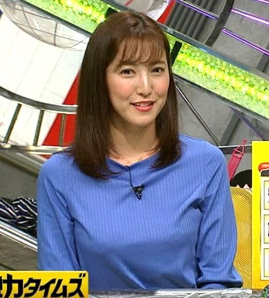 小澤陽子アナ お胸が大きい女子アナキャプ・エロ画像5
